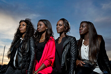 Still from the film: Girlhood