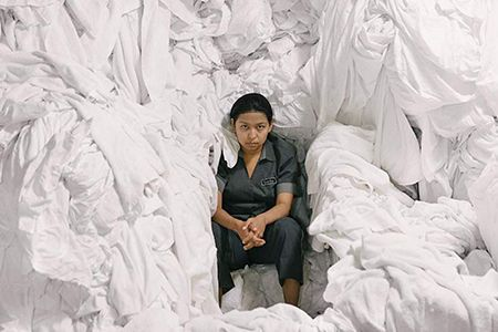 Still from the film: The Chambermaid
