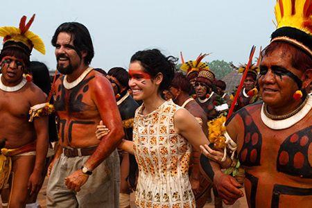 Still from the film: Xingu